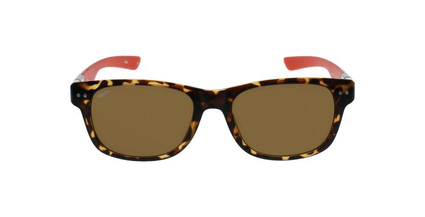 Gafas de sol hombre FLORENT carey/rojo - vista de frente