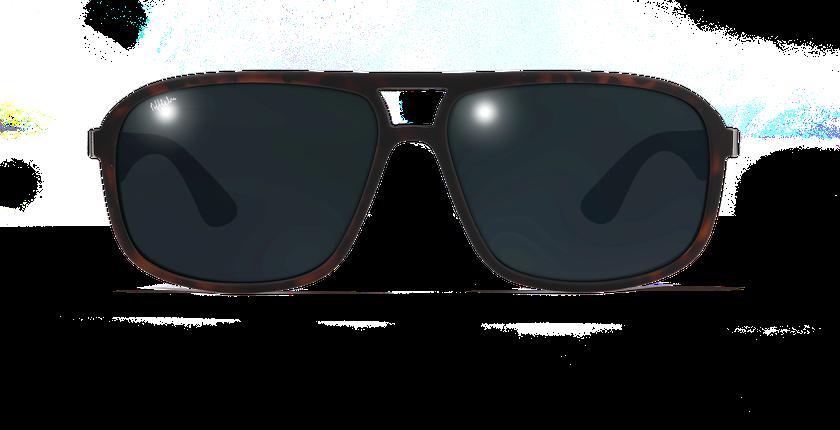 Gafas de sol hombre ANZIO POLARIZED carey - vista de frente