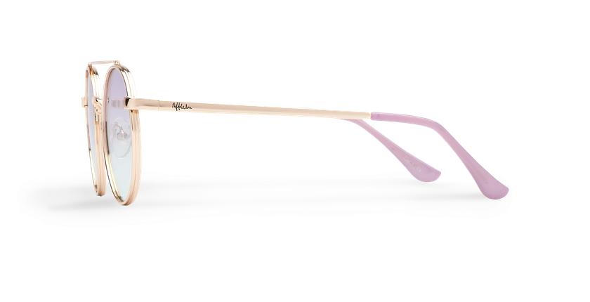 Gafas de sol MOHO dorado/azul - vista de lado