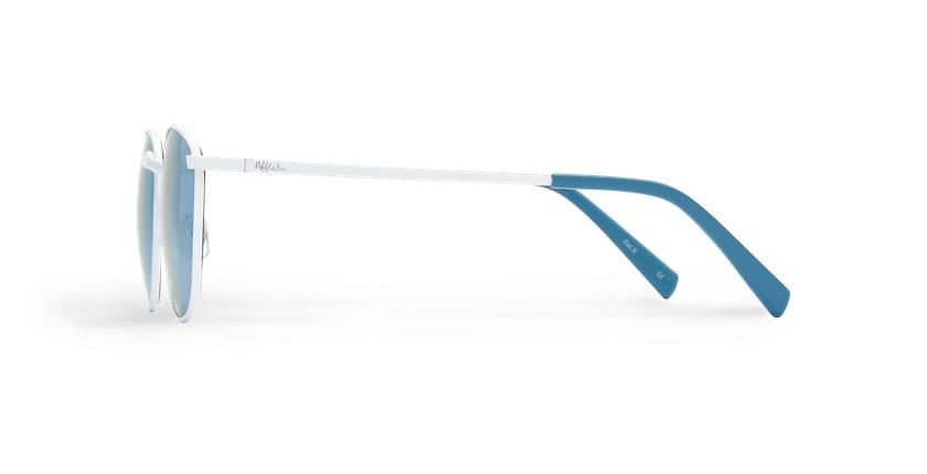 Gafas de sol mujer BLANES blanco - vista de lado