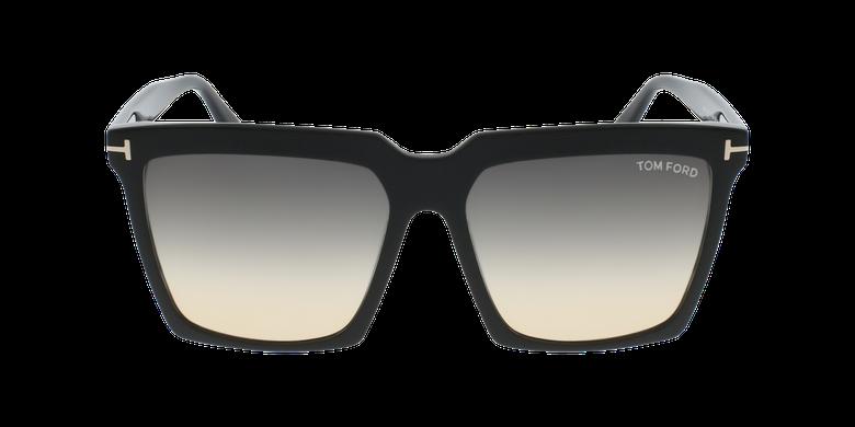 Gafas de sol mujer SABRINA-02 negrovista de frente