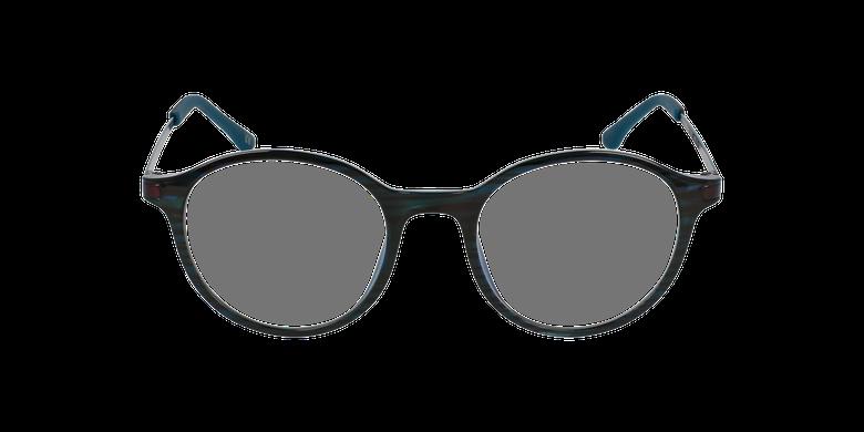 Gafas graduadas mujer MAGIC 37 BLUE BLOCK verdevista de frente