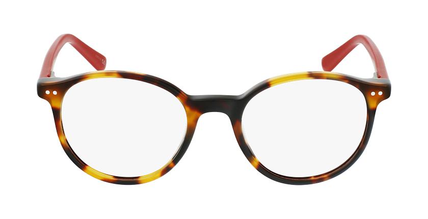 Gafas graduadas niños JUDE carey/rojo - vista de frente