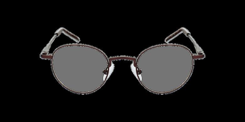 Gafas graduadas CLEO rojovista de frente