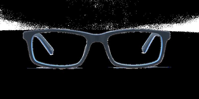 Gafas graduadas hombre LEON azulvista de frente