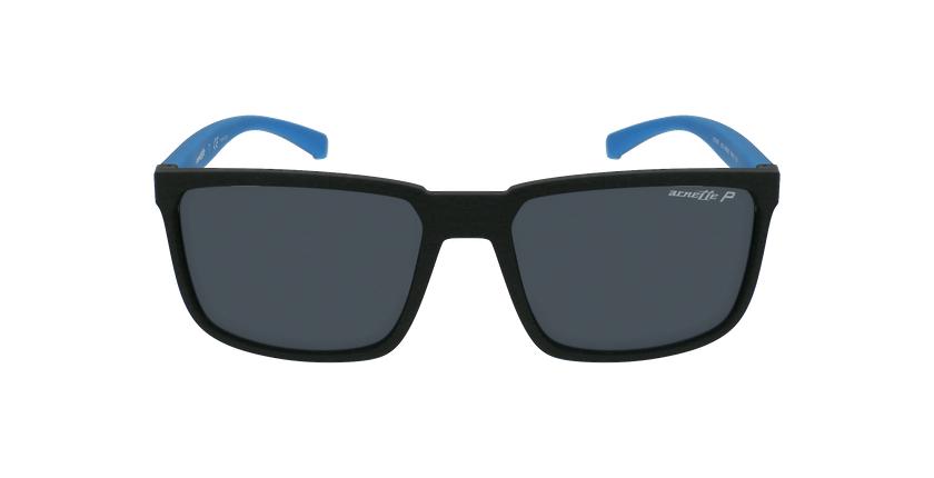 Gafas de sol hombre STRIPE negro - vista de frente
