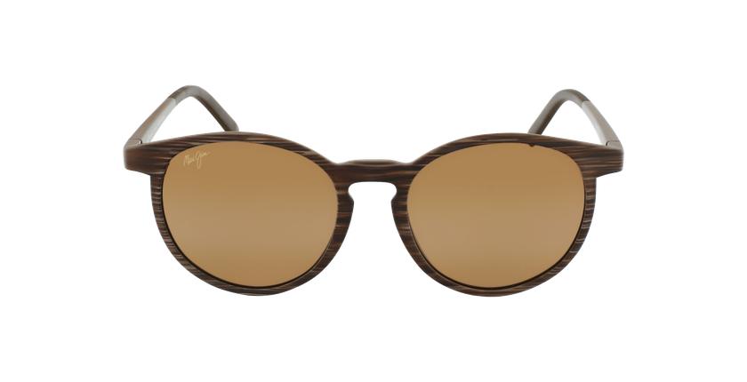 Gafas de sol Kiawe marrón - vista de frente