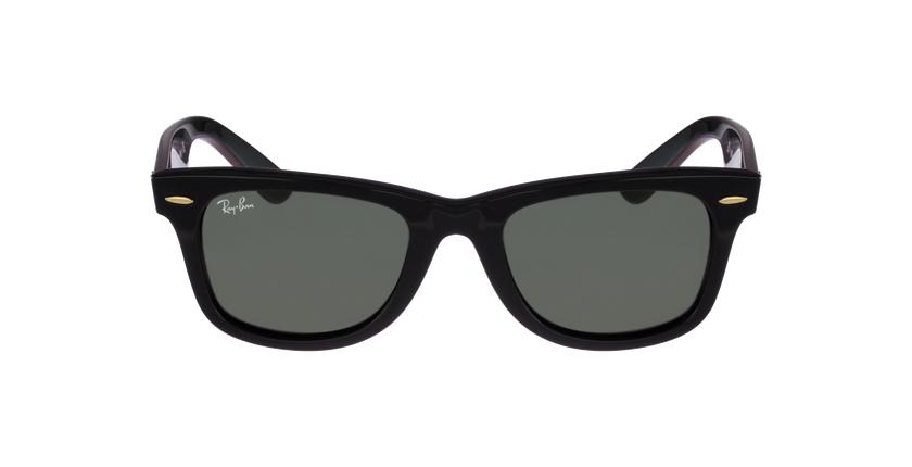 Gafas de sol WAYFARER negro/gris - vista de frente