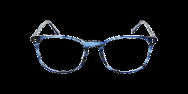 Gafas graduadas hombre MAXENCE azulvista de frente