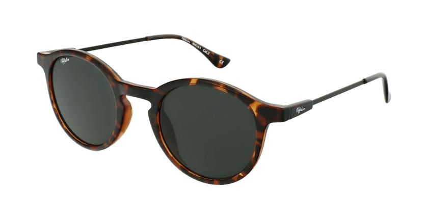 Gafas de sol mujer LILA carey/negro - vue de 3/4