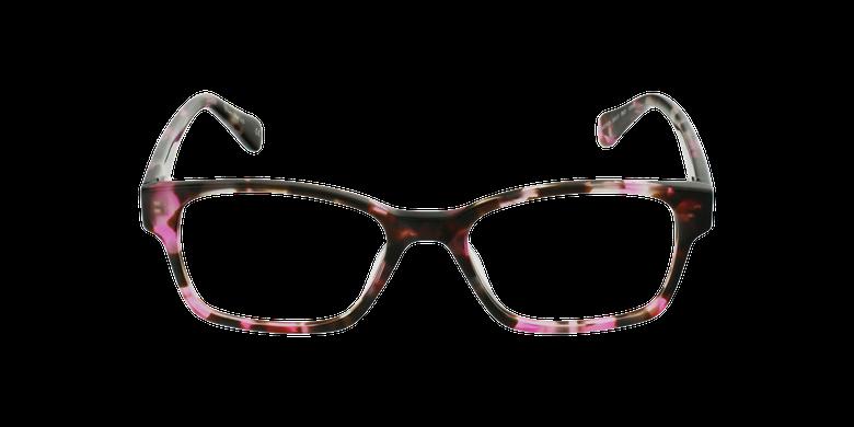 Gafas graduadas mujer LYS carey/rosavista de frente