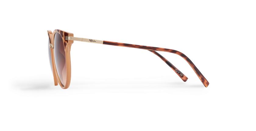 Gafas de sol mujer BARCELO carey/marrón - vista de lado
