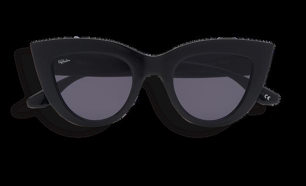 Gafas de sol mujer MARIPOSA negro - danio.store.product.image_view_face