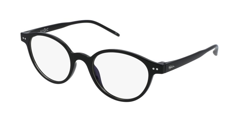 Gafas graduadas mujer MAGIC 49 BLUEBLOCK negro - vue de 3/4