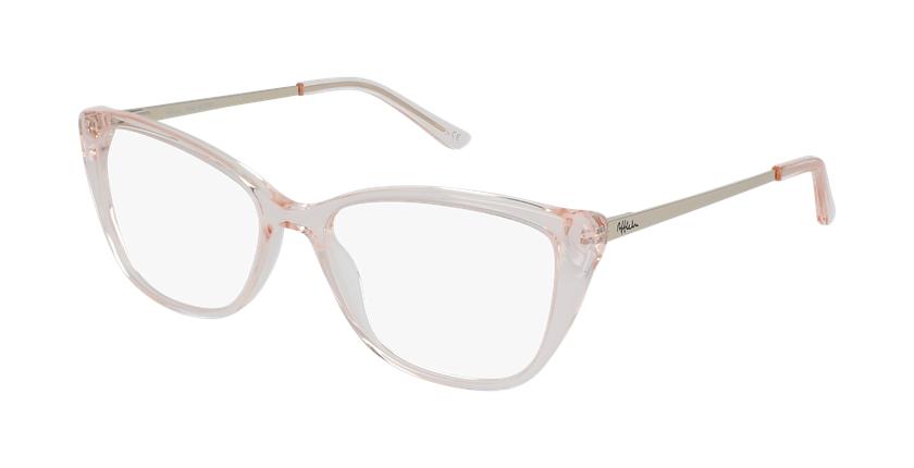 Gafas graduadas mujer ALOISE rosa - vue de 3/4