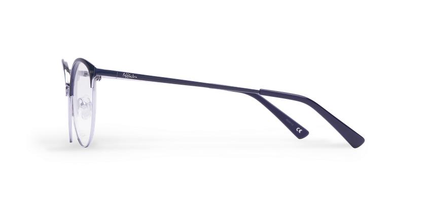 Gafas graduadas mujer SUE azul - vista de lado