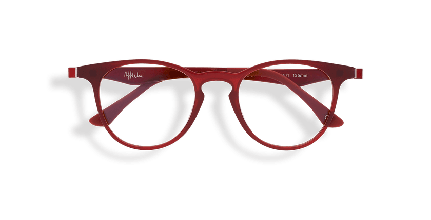 Gafas graduadas MAGIC 27 BLUE BLOCK rojo - vista de frente