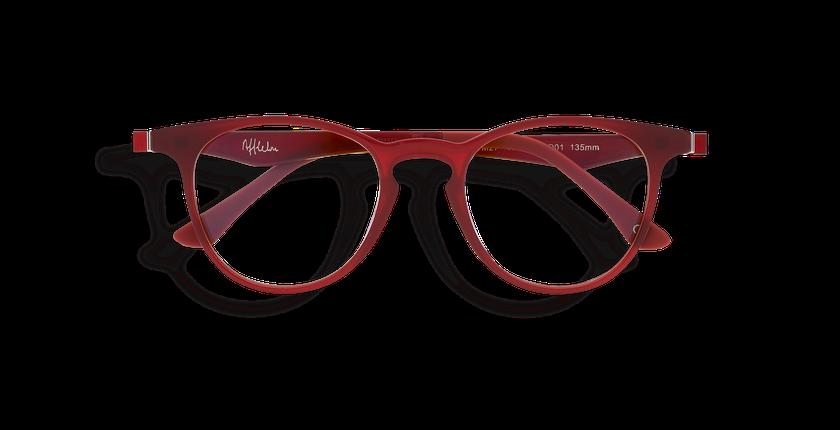 Gafas de sol MAGIC 27 BLUE BLOCK rojo - vista de frente