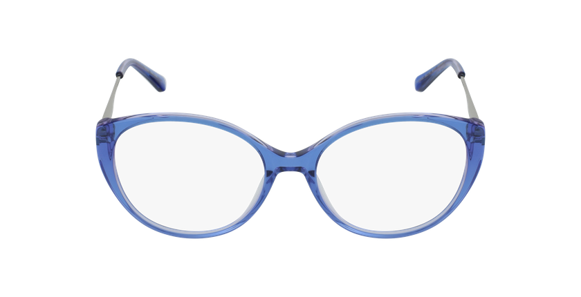 Gafas graduadas mujer LIVIA azul - vista de frente