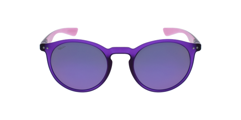 Gafas de sol mujer KESSY morado/rosavista de frente