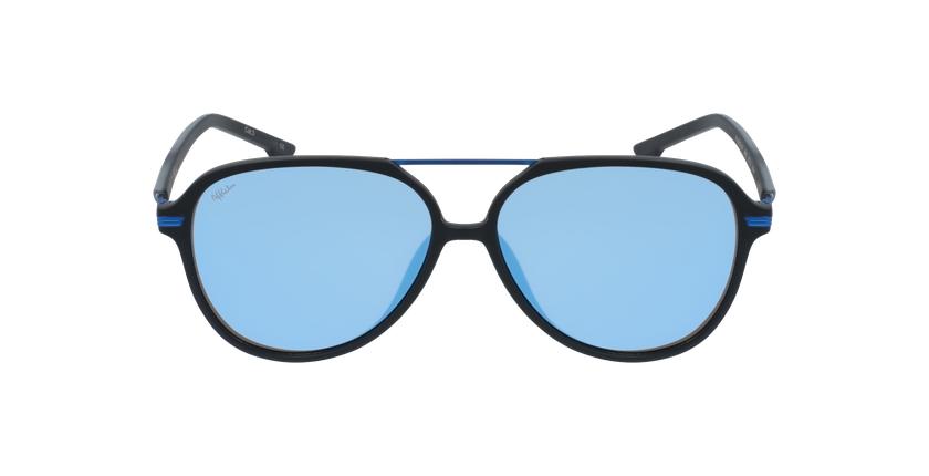 Gafas de sol hombre BASAURI negro/azul - vista de frente