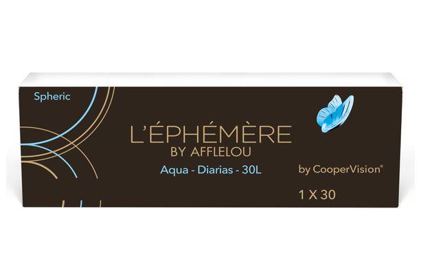 Lentillas L'EPHEMERE AQUA 1-DAY SILICONE - DIARIAS - vista de frente