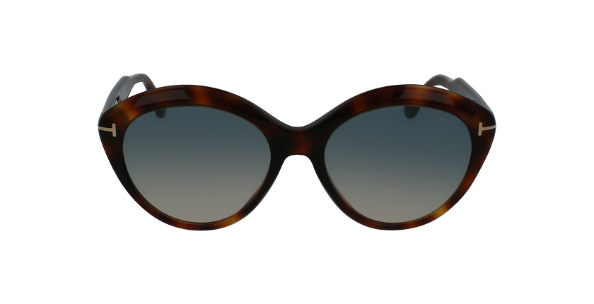Gafas de sol mujer MAXINE marrón - vista de frente