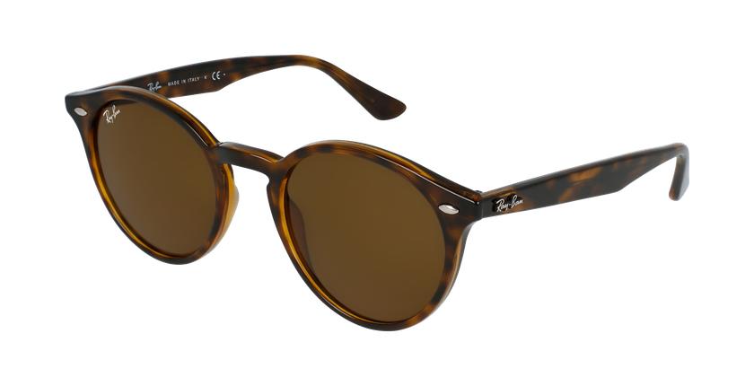 Gafas de sol 0RB2180 marrón - vue de 3/4