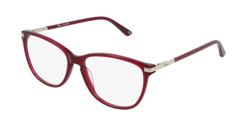 Gafas graduadas mujer OAF20520 rojo - vue de 3/4