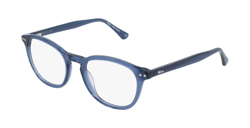 Gafas graduadas mujer OAF20523 azul - vue de 3/4