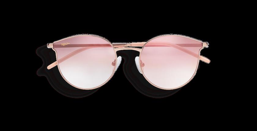 Gafas de sol mujer MELROSE dorado - vista de frente