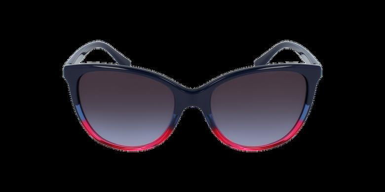 Gafas de sol mujer 0EA4110 negro/azulvista de frente