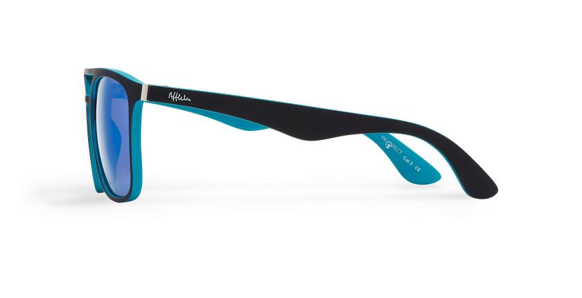 Gafas de sol OSTUNI POLARIZED negro/azul - vista de lado