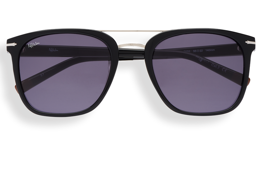 Gafas de sol hombre DARWIN negro - danio.store.product.image_view_face