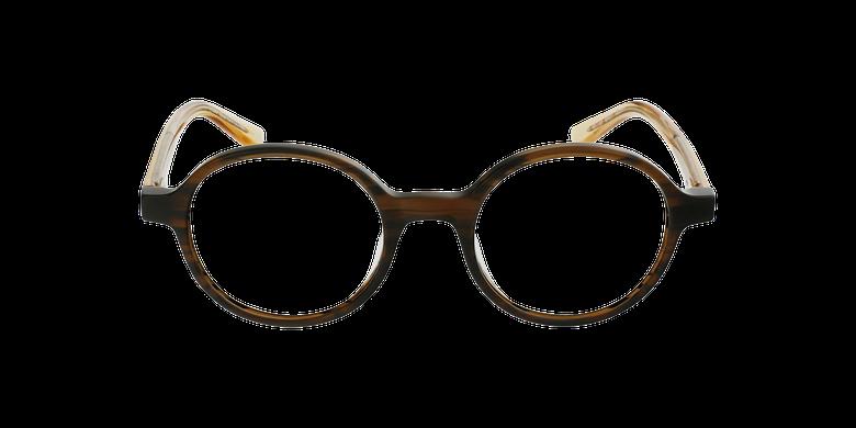 Gafas graduadas mujer OAF21619 marrónvista de frente