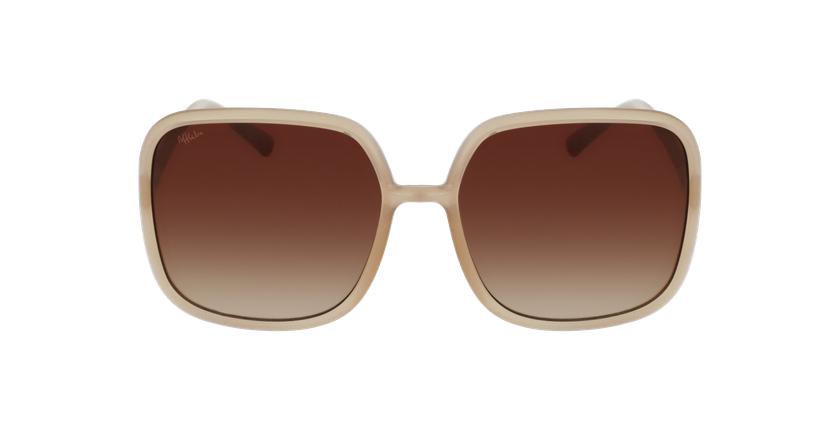 Gafas de sol mujer ESCANDELLA marrón - vista de frente