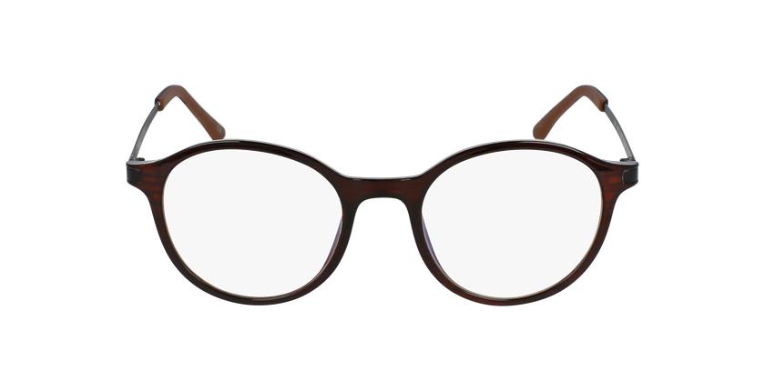 Gafas graduadas mujer MAGIC 37 BLUE BLOCK marrón - vista de frente