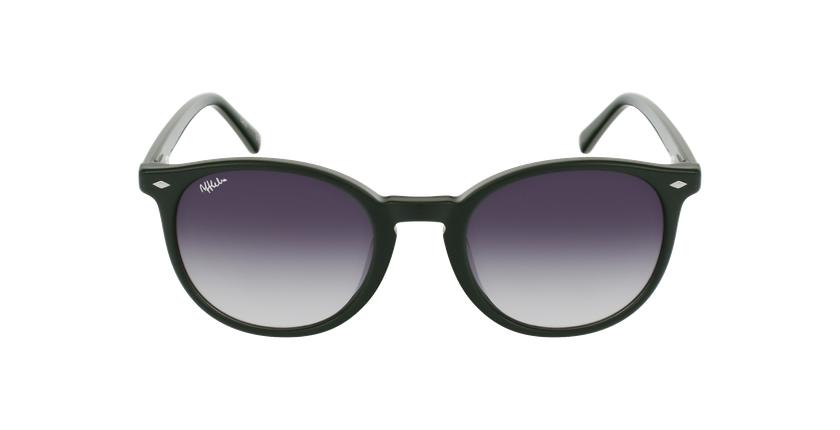Gafas de sol hombre CLINT verde - vista de frente