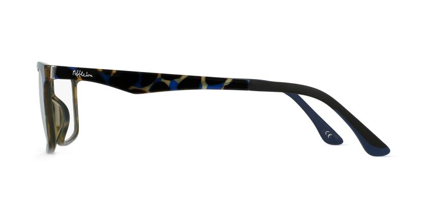 Gafas graduadas hombre MAGIC 32 BLUE BLOCK carey/azul - vista de lado