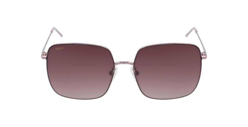 Gafas de sol mujer PATERNA rosa - vista de frente