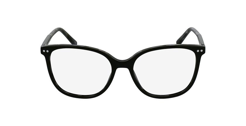Gafas graduadas mujer MOZART negro - vista de frente