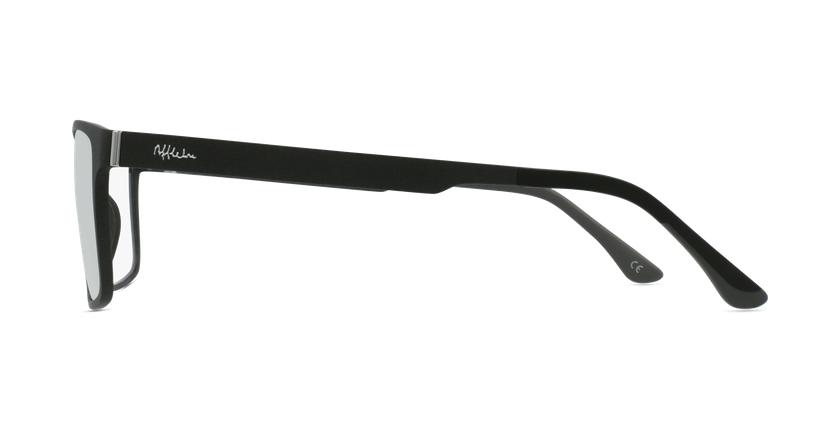 Gafas graduadas hombre MAGIC 59 BLUEBLOCK negro - vista de lado