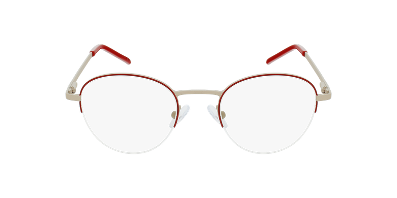 Gafas graduadas mujer DOMI rojovista de frente
