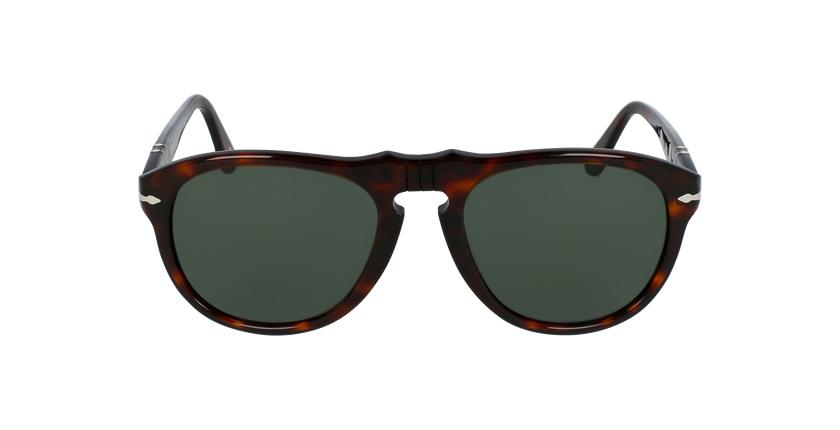 Gafas de sol hombre 0PO0649 marrón - vista de frente