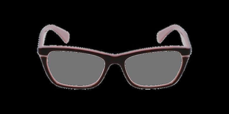 Gafas graduadas mujer RA 7091 rosa/negrovista de frente