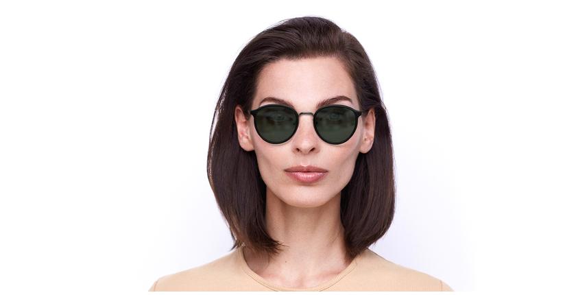 Gafas de sol AVILES negro/gun - vista de frente