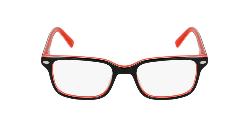 Gafas graduadas niños EDDIE negro/naranja - vista de frente
