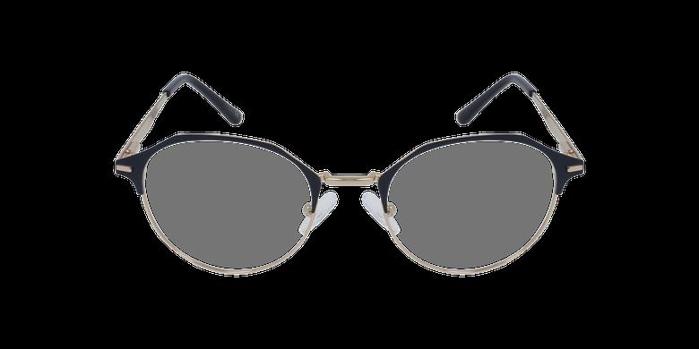 Gafas graduadas mujer OAF20524 azul/doradovista de frente