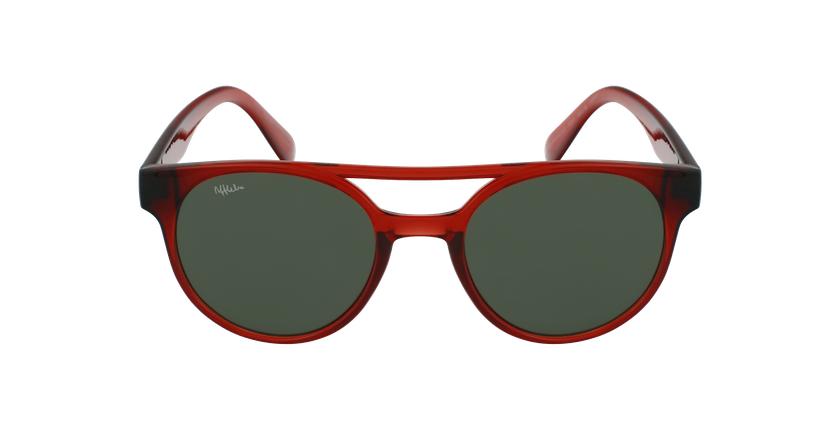 Gafas de sol niños MANACOR - NIÑOS rojo - vista de frente