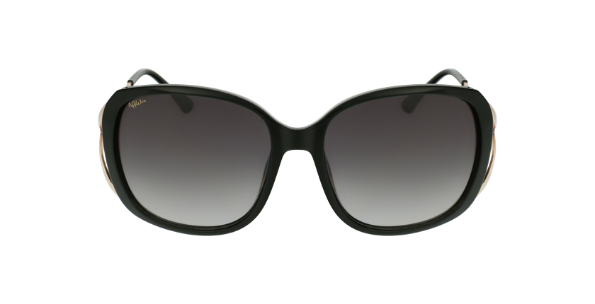 Gafas de sol mujer ROSALES negro/dorado - vista de frente